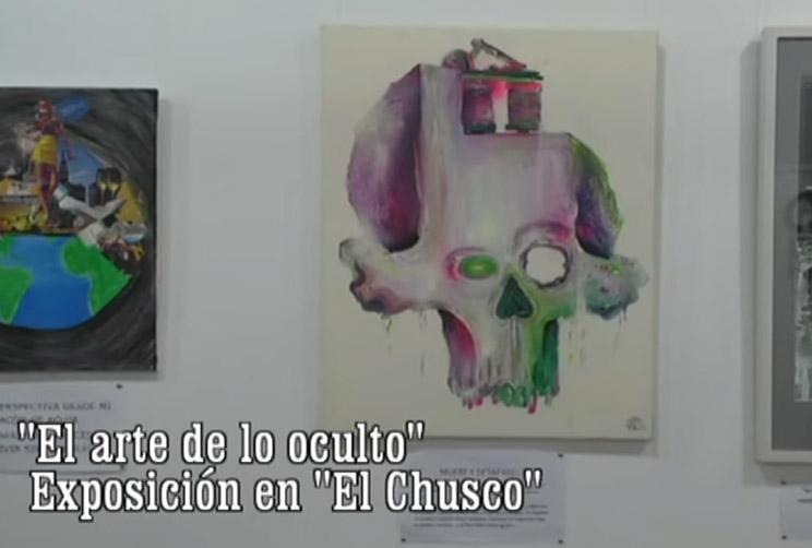 """""""El arte de lo oculto"""" - El Chusco"""