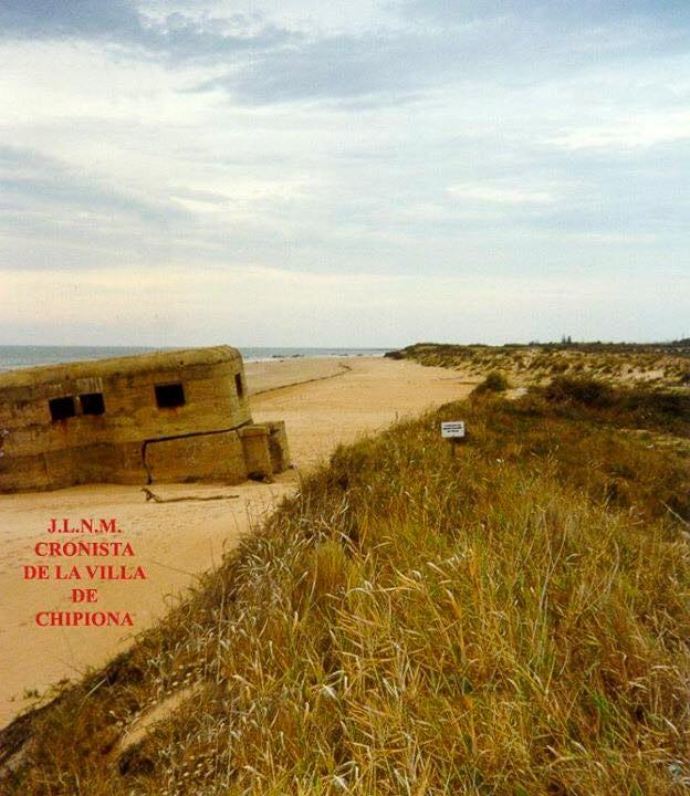 Fortín que existía en el límite del término de Chipiona con Rota, junto al Arroyo de la Ballena