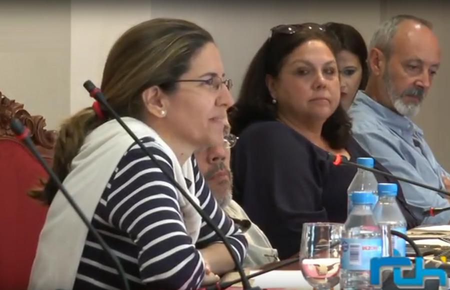 Elvira Jiménez oficializa en el pleno de hoy la renuncia a su acta de concejal