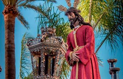 Salida procesional de la Hermandad de Nuestro Padre Jesús Cautivo y Nuestra Señora de los Dolores 2019